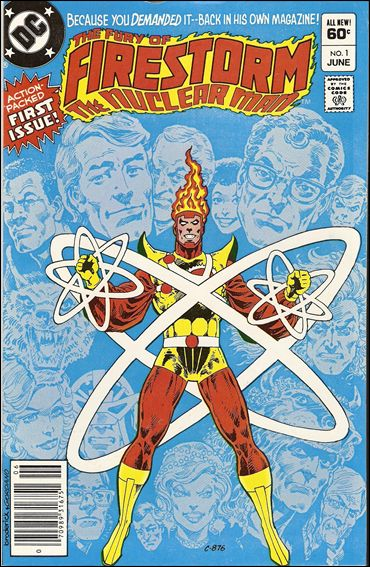 Fury of Firestorm 1-A by DC