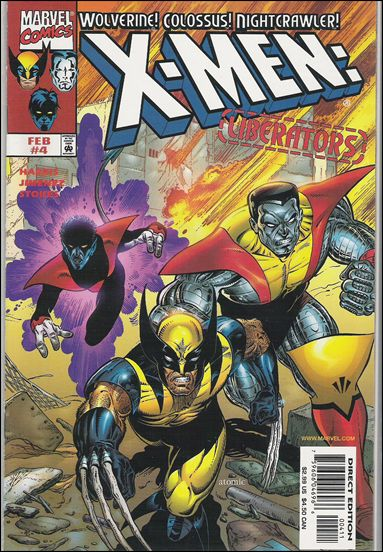 X-Men: Liberators 4-A by Marvel