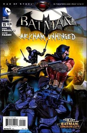 Batman: Arkham Unhinged 15-A