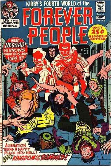 Forever People (1971) 4-A by DC