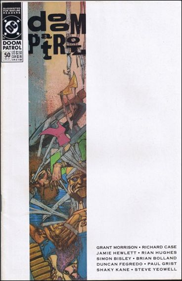 Doom Patrol (1987) 50-A by Vertigo