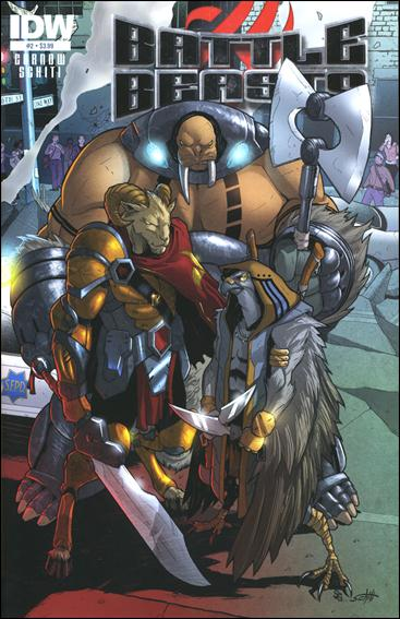 Battle Beasts (2012) 2-A by IDW