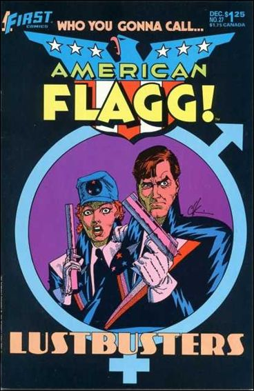 American Flagg! (1983) 27-A by First