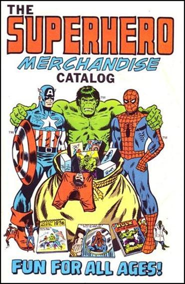 Superhero Merchandise Catalogue 1975-A by Superhero Enterprises, Inc.