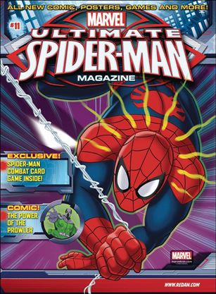 Marvel Ultimate Spider-Man Magazine 11-A