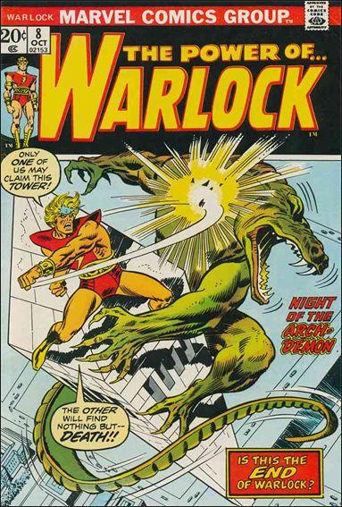 Warlock (1972) 8-A by Marvel