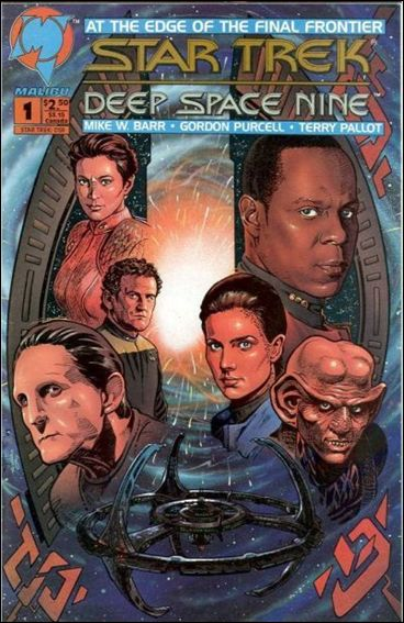 Star Trek: Deep Space Nine (1993) 1-A by Malibu