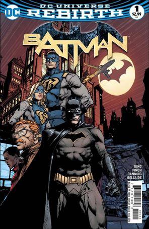 Batman (2016) 1-A