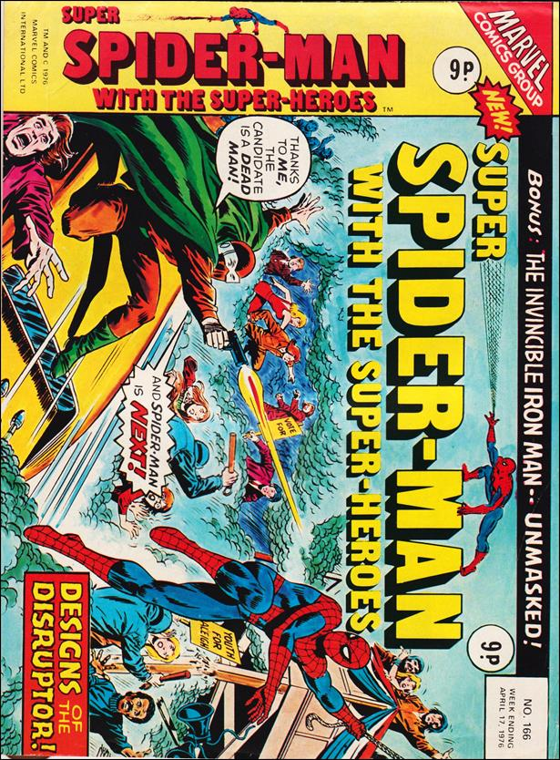 Spider-Man: Comics Weekly (UK) 166-A by Marvel UK