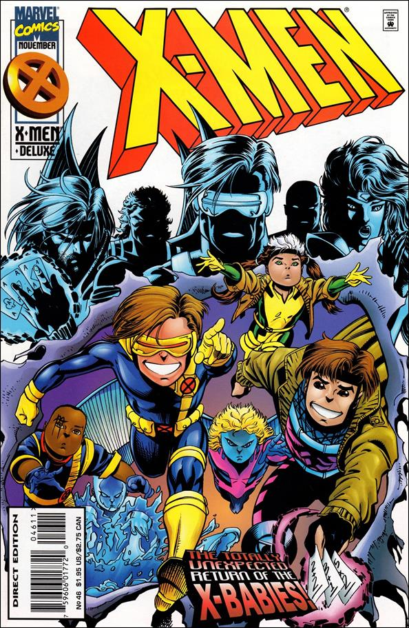 X-Men (1991) 46-A by Marvel