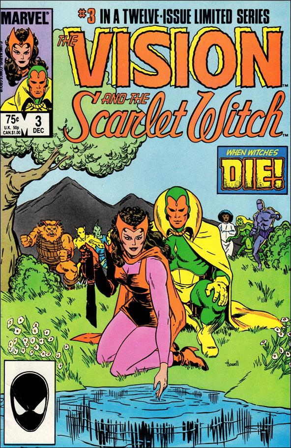 Vision and the Scarlet Witch (1985) 3-A by Marvel