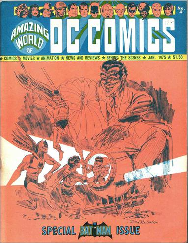 Amazing World of DC Comics 4-A by DC