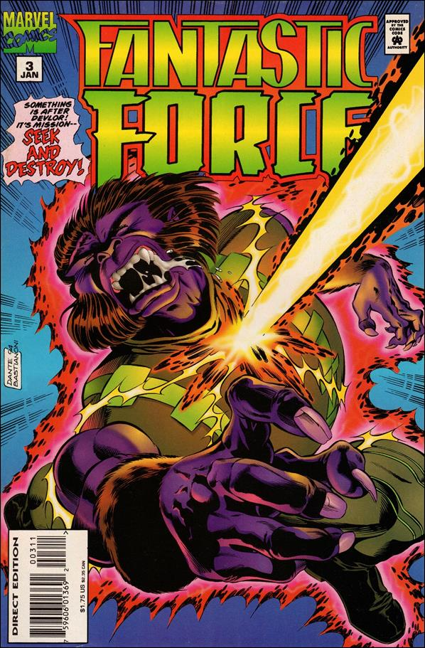 Fantastic Force (1994) 3-A by Marvel
