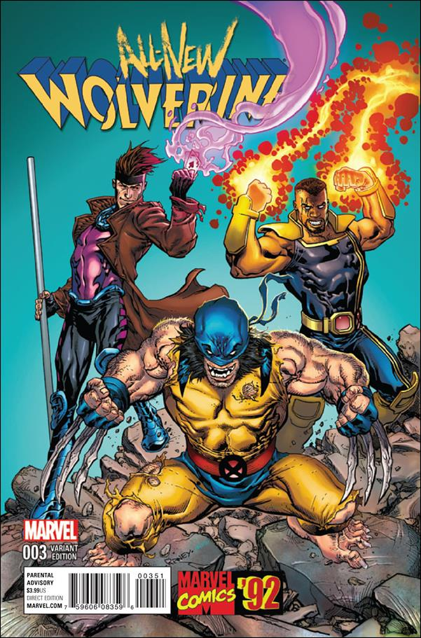 All-New Wolverine  3-B by Marvel
