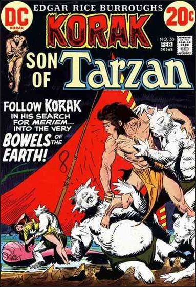 Korak, Son of Tarzan 50-A by DC