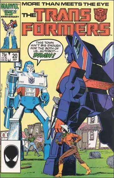 Transformers (1984) 20-A by Marvel