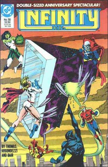 Infinity Inc. (1984) 50-A by DC
