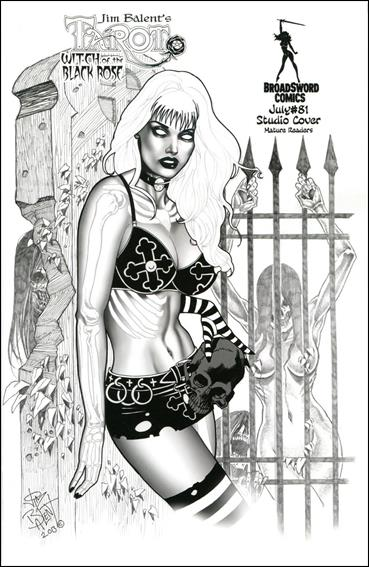 Tarot: Witch of the Black Rose 81-C by BroadSword Comics