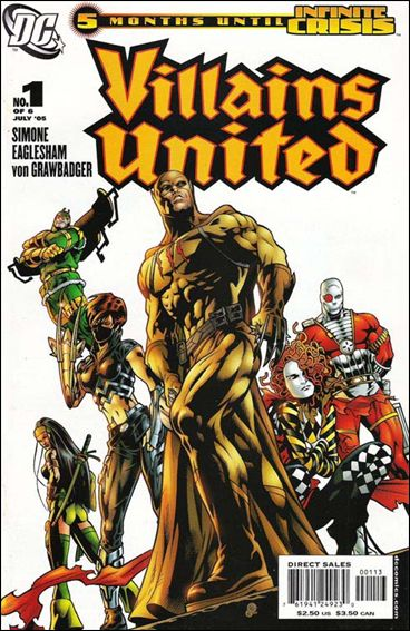 Villains United 1-C by DC