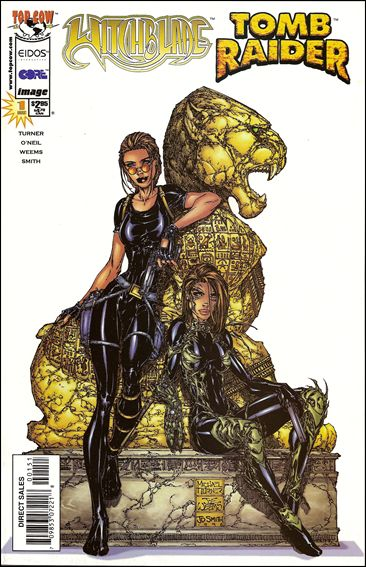 Witchblade/Tomb Raider 1-A by Top Cow