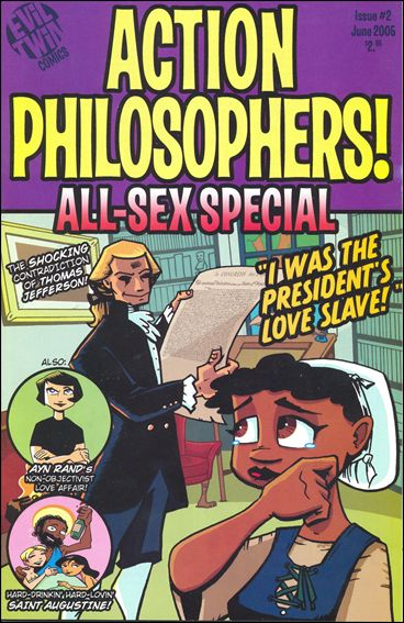 Action Philosophers 2-A by Evil Twin Comics