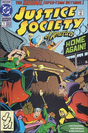 Justice Society of America (1992) 1-A by DC
