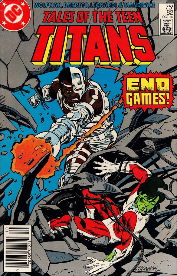 Tales of the Teen Titans 82-A by DC