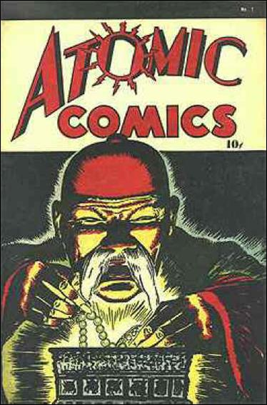 Atomic Comics 1-A by Green Publishing