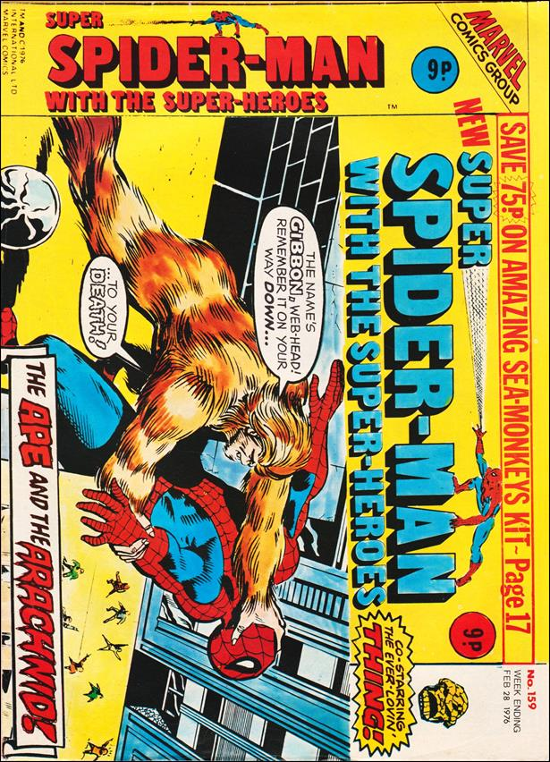 Spider-Man: Comics Weekly (UK) 159-A by Marvel UK