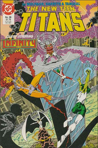 New Teen Titans (1984) 38-A by DC