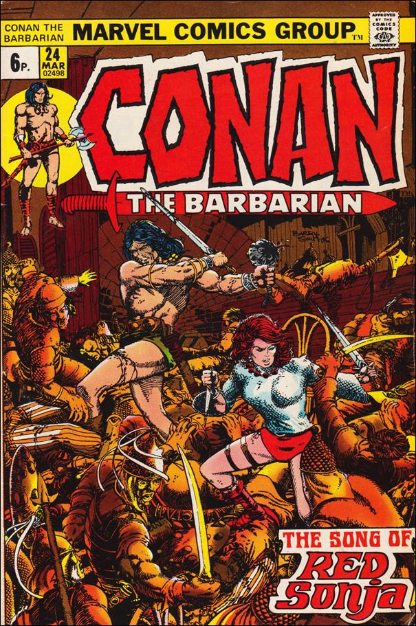 Conan the Barbarian (1970) 24-B by Marvel