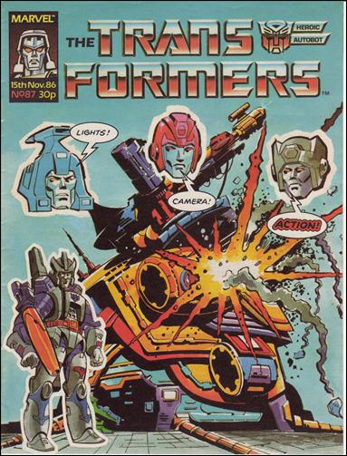 Transformers (UK) 87-A by Marvel UK