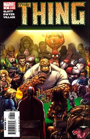 Thing (2006) 8-A by Marvel