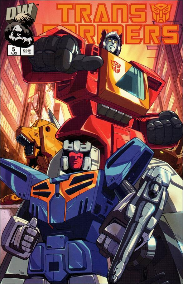 Transformers: Generation 1 (2002) 5-A by Dreamwave