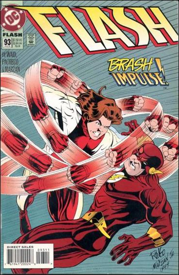 Flash (1987) 93-A by DC