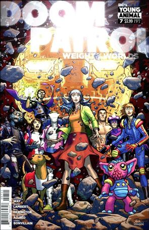 Doom Patrol: Weight of the Worlds 7-A