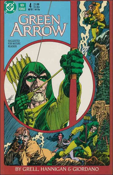 Green Arrow (1988) 4-A by DC