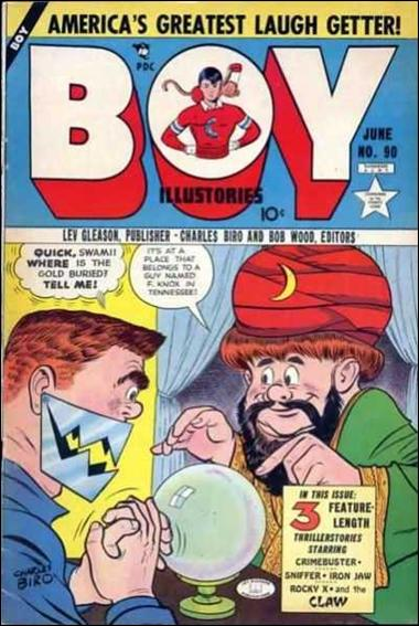 Boy Comics 90-A by Lev Gleason Productions