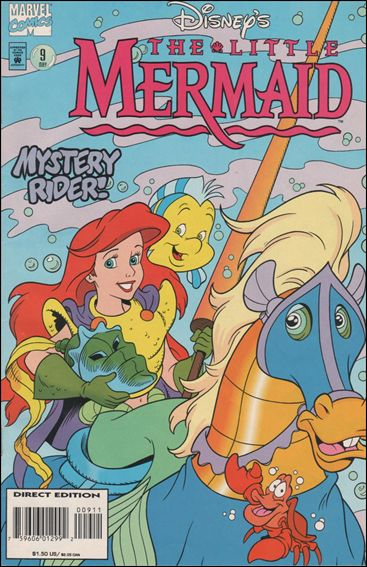 Disney's the Little Mermaid 9-A by Marvel