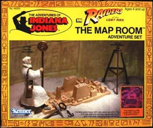 Adventures of Indiana Jones Vehicles and Playsets Map Room Adventure Playset