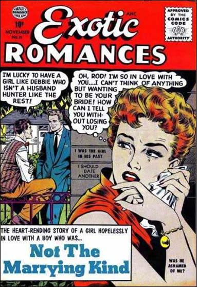 Exotic Romances 31-A by Comic Magazines
