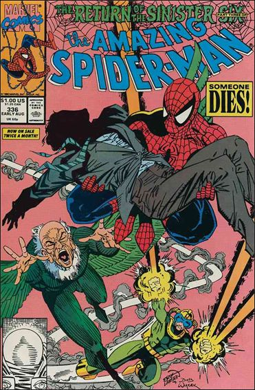 Amazing Spider-Man (1963) 336-A by Marvel