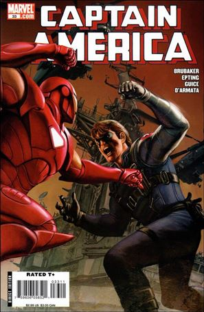 Captain America (2005) 33-A