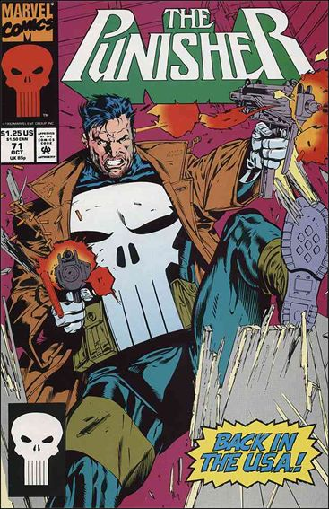 Punisher (1987) 71-A by Marvel