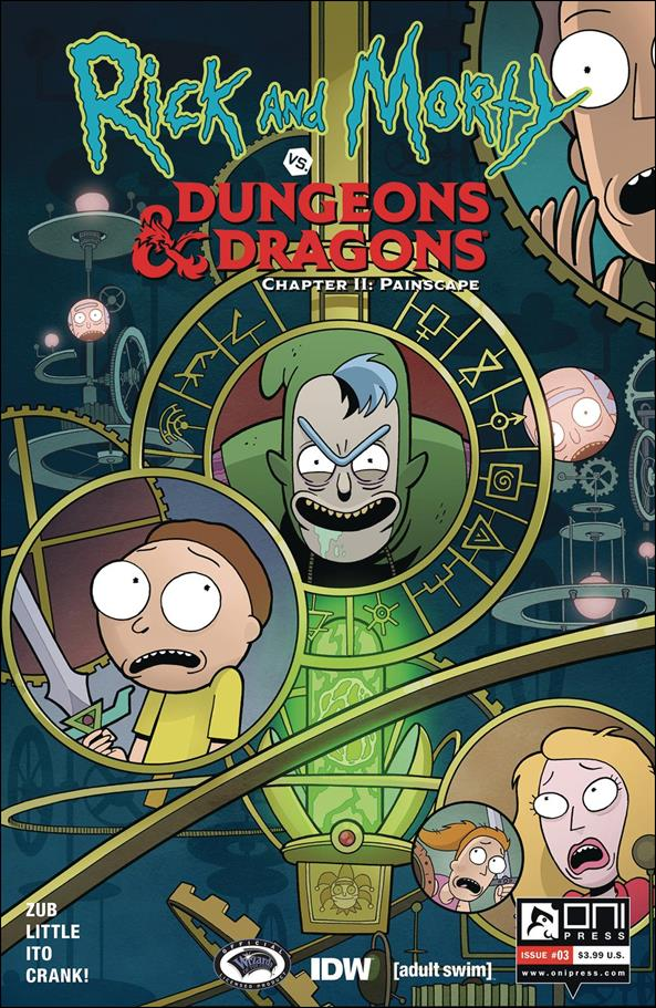 Rick and Morty vs Dungeons & Dragons Chapter II: Painscape 3-A by Oni Press