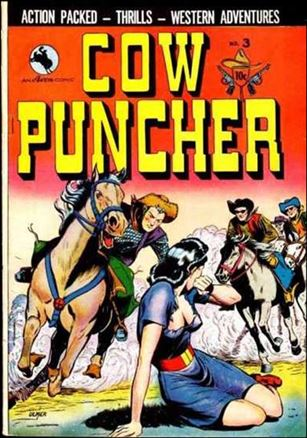 Cow Puncher Comic 3-A