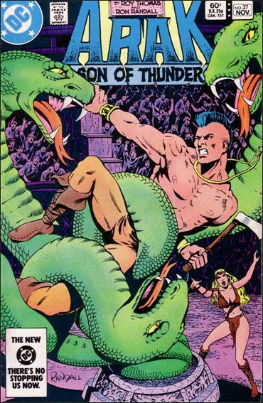 Arak Son of Thunder 27-A by DC