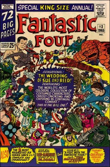 Fantastic Four Annual (1963) 3-A by Marvel