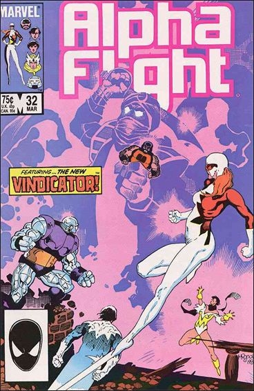 Alpha Flight (1983) 32-A by Marvel