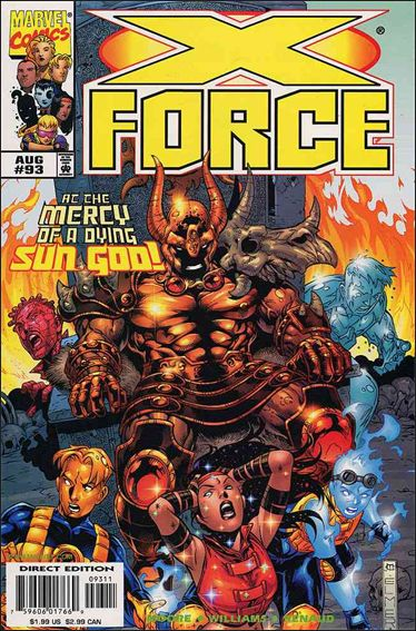X-Force (1991) 93-A by Marvel
